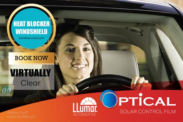 Window-Cool™ - LLumar Clear Optical Automotive Window Film Promotion in Singapore