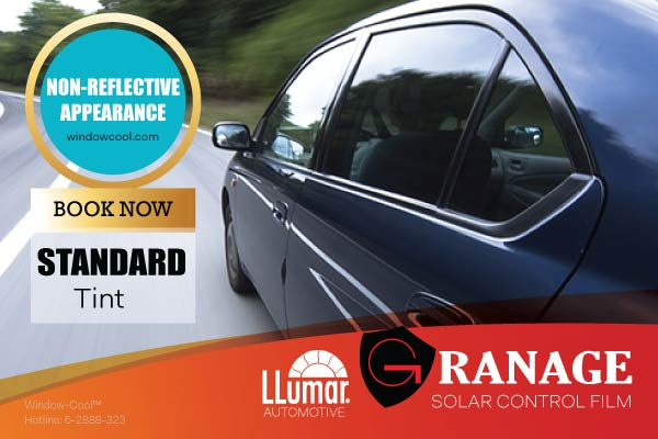 Window-Cool™ - LLumar Standard Dyed Automotive Window Film Promotion in Singapore