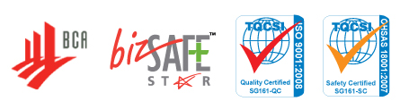 Window-Cool Certified and Registered ISO, OHSAS, BCA, BIZSAFE, window film and blinds supplier singapore