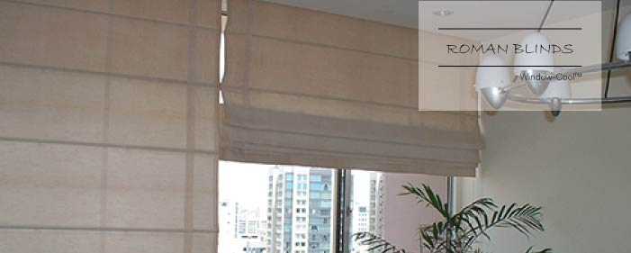 Window-Cool™ - Roman Blinds Singapore, Blinds and Shades