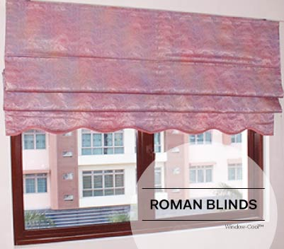 Window-Cool™ - Roman Blinds Singapore