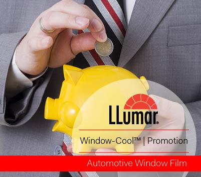 automotive window film promotion