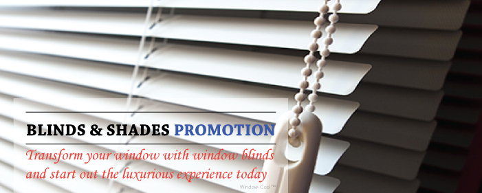 Window-Cool™ - Blinds Promotion Singapore