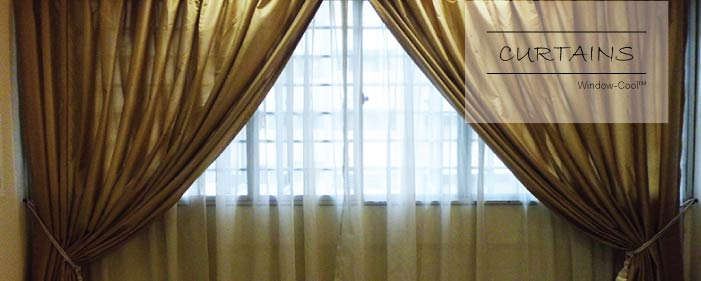 Window-Cool™ - Curtains Singapore, Blinds & Shades