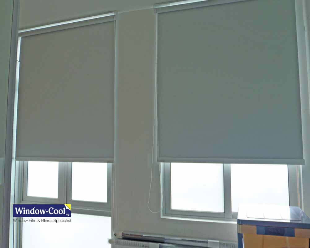 Blockout Roller Blinds Window Shades Singapore