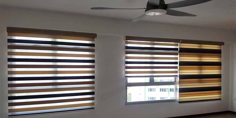 Dual Shade Rainbow Blinds Singapore