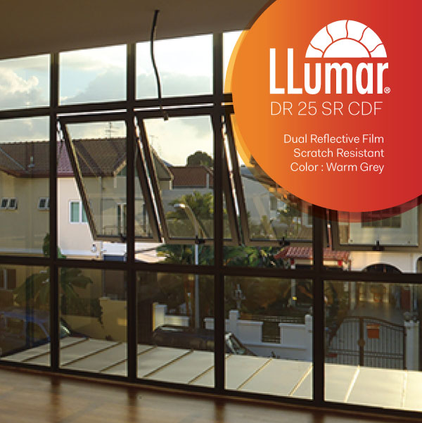 Dual Reflective Solar Film Singapore Window Cool