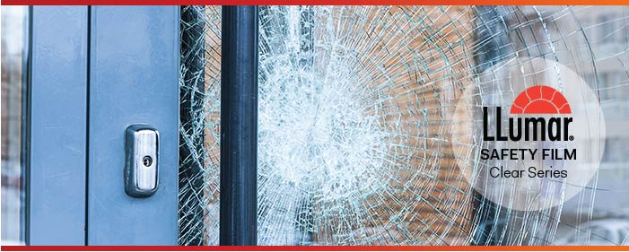 LLumar Anti-Shatter Safety Protection Window Film - Clear Series