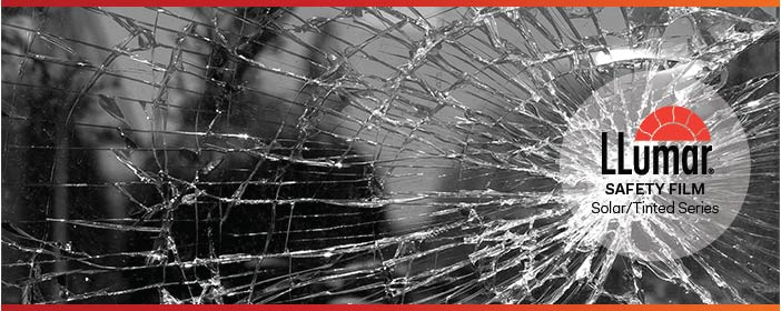 LLumar Anti-Shatter Safety Protection Window Film - Solar Tinted Series