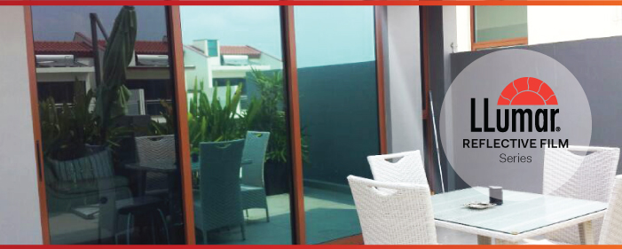 Reflective Window Films in Singapore (One-Way Mirror Privacy Window Film)