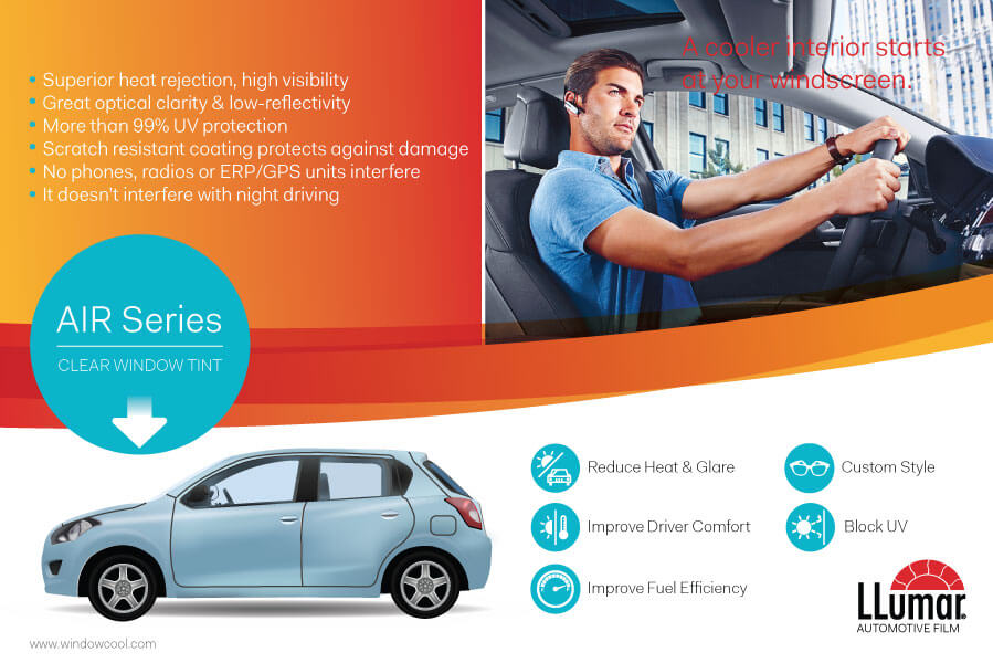 Window-Cool - LLumar Clear Optical Automotive Window Film Promotion in Singapore