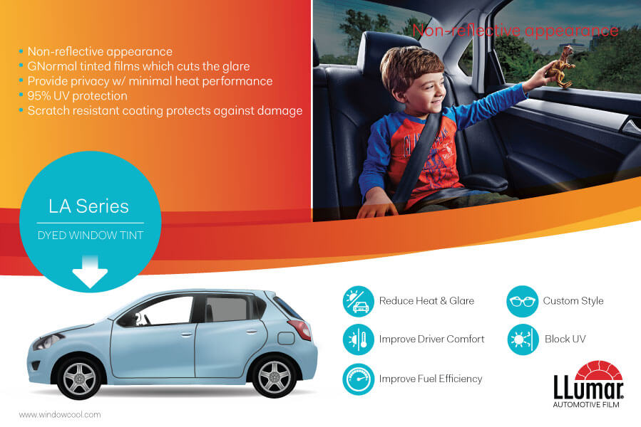 Window-Cool - LLumar Standard Dyed Automotive Window Film Promotion in Singapore