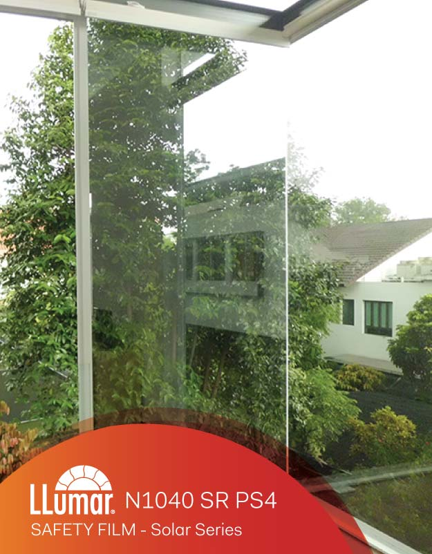 LLumar Safety Film - Tinted Protection Film For Glass Break