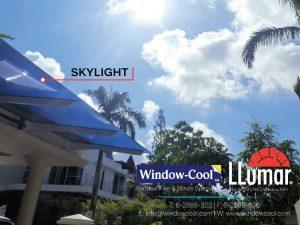 LLumar Window Film on Skylight