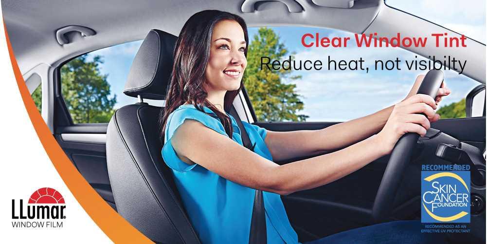 Clear Solar Film for Car LLumar Clear Window Tint