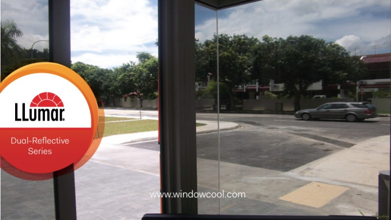 Best Solar Film Singapore Warm Grey Color for Windows - Dual Reflective Night Vision Sun Control Film For Homes and Offices Window Film Singapore