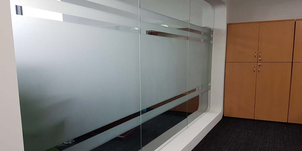 Frosted Film Privacy Film for Home and Offices - Window Film Singapore