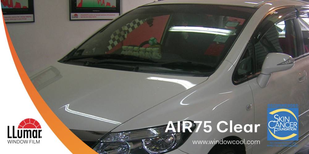 LLumar AIR90 Clear Car Solar Film Singapore