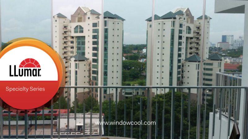 Solar Film for Home Windows - Clear Sun Control Window Film Singapore