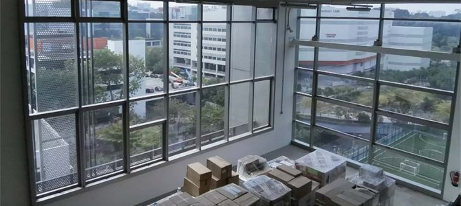 Window Film for Warehouse Windows