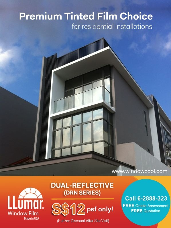 WIndow Film Promotion - Solar Film LLumar DRN25SRCDF