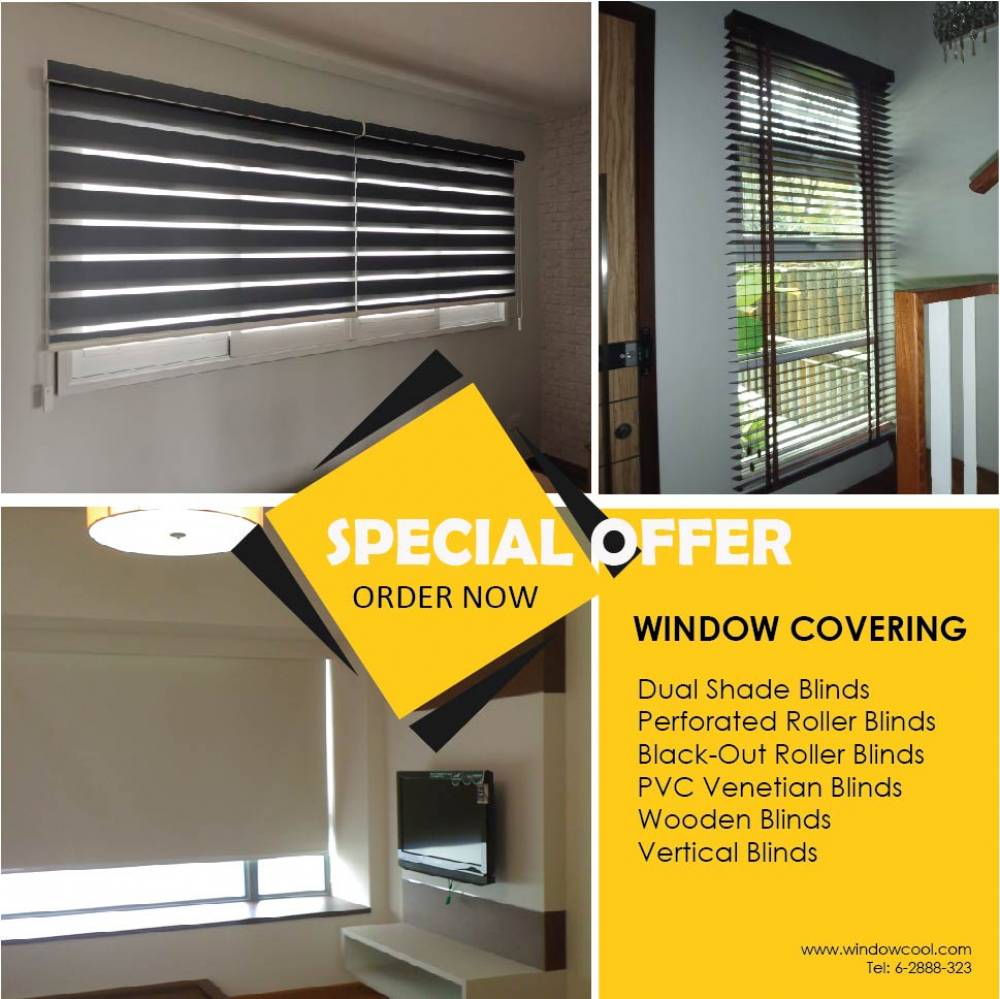 Window Blinds and Shades Singapore