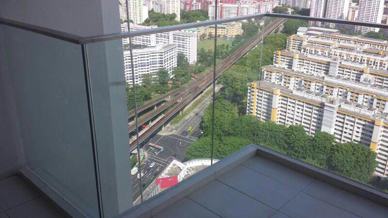 Exterior Anti Shatter Protection Safety Film for Glass Balcony