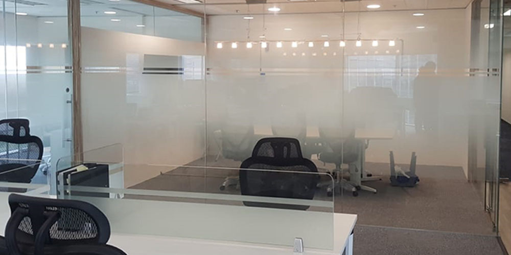 Gradient Films for Glass Partition Office, Home, Hotels, Shops, Hospital, Schools & Universities