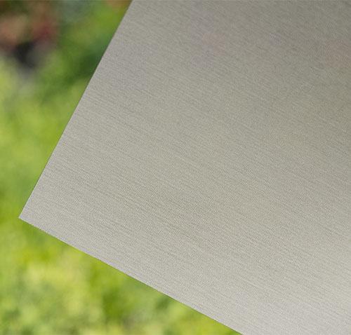 Rose Grey Linen Fabric Window Film